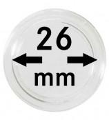 Münz-Kapseln ø 26 mm