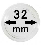 Münz-Kapseln ø 32 mm