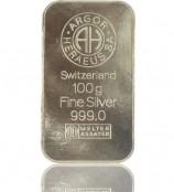 100 g Silberbarren