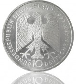 10 DM Münzsilber 1987-1997