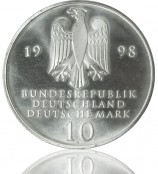 10 DM Münzsilber 1998-2001