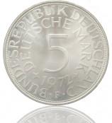 5 DM Silberadler 1951-1974