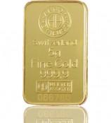 5 g Goldbarren