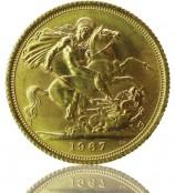 Großbritannien Sovereign Pfund
