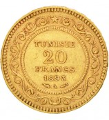 Tunesien Francs LMU