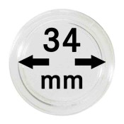 Münz-Kapseln ø 34 mm