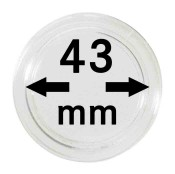 Münz-Kapseln ø 43 mm