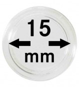 Münz-Kapseln ø 15 mm