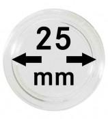 Münz-Kapseln ø 25 mm