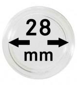 Münz-Kapseln ø 28 mm