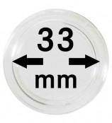 Münz-Kapseln ø 33 mm