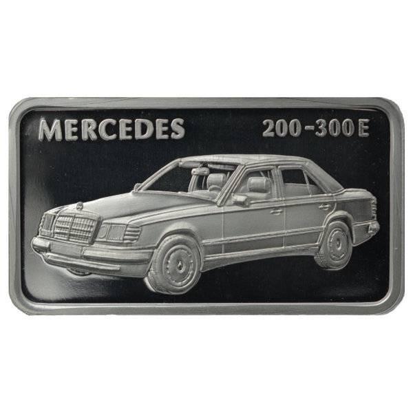 1 oz Silber Motiv-Barren Mercedes 200-300E