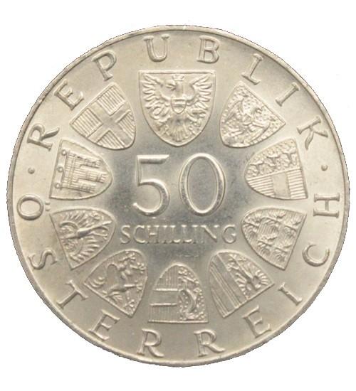 50 Schilling 1974 - 1978