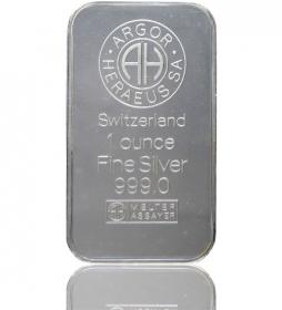 Silber-Barren 31,1 g (LBMA-zertifiziert)