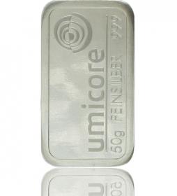 Silber-Barren 50 g (LBMA-zertifiziert)