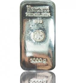 Silber-Barren 1000 g (LBMA-zertifiziert)
