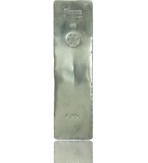 Silber-Barren 5000 g (LBMA-zertifiziert)