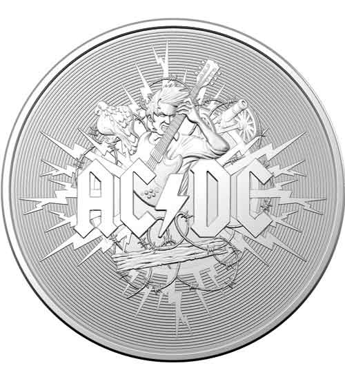 ACDC - Frosted Uncirculated - RAM 2021
