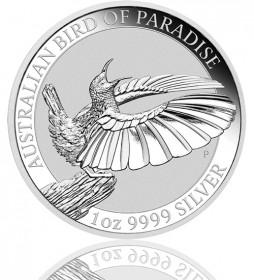 Birds of Paradise Australien Silber 1 oz 2018 Perth Mint