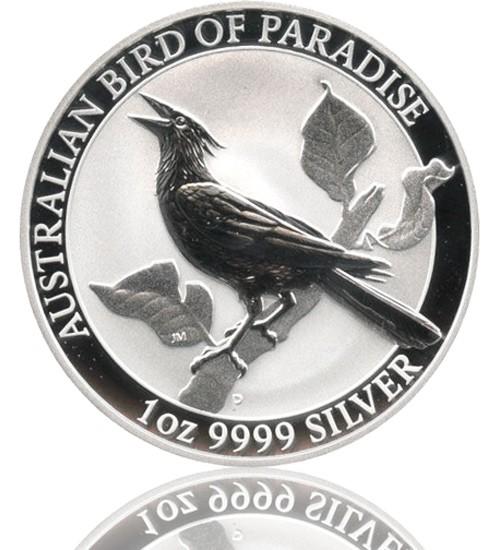 Birds of Paradise Australien Silber 1 oz 2019 Perth Mint