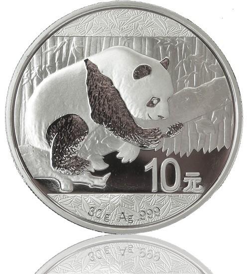 China Silberpanda 30 g 2016