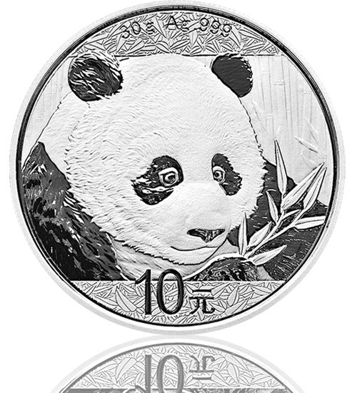 China Silberpanda 30 g 2018