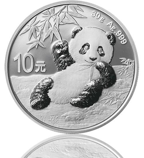 China Silberpanda 30 g 2020