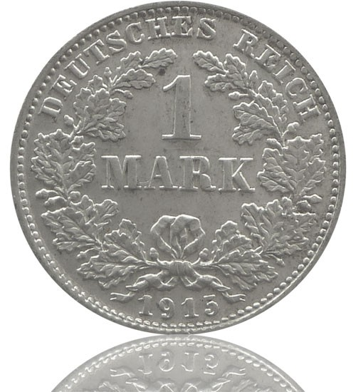 Kaiserreich 1 Mark 1891-1916 J. 17