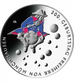 20 Euro Silbermünze 2020, 300. Geburtstag Freiherr von Münchhausen