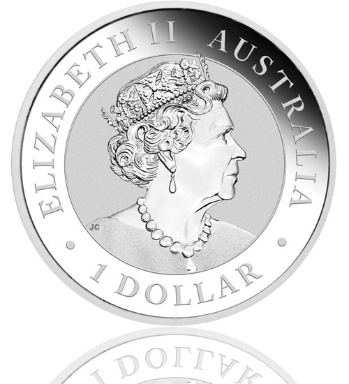 Australian Silber Emu 1 oz 2020
