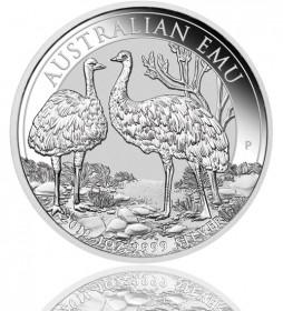 Australian Silber Emu 1 oz 2019
