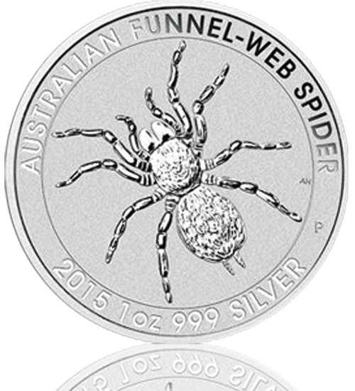 Trichternetzspinne 1 oz 2015 Perth Mint
