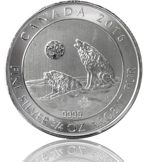 Kanada Grauwolf - Grey Wolf - 3/4 oz 2016
