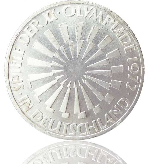 10 DM Sondermünzen Olympische Sommerspiele 1972