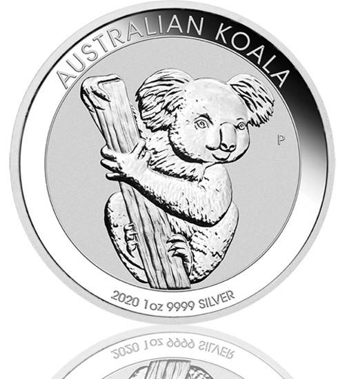 Silber Koala 1 oz 2020