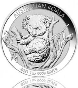Silber Koala 1 oz 2021