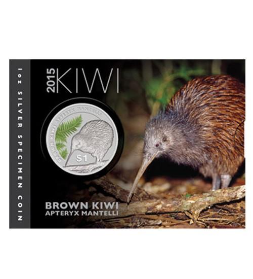 Kiwi 1 oz 2015 Blister