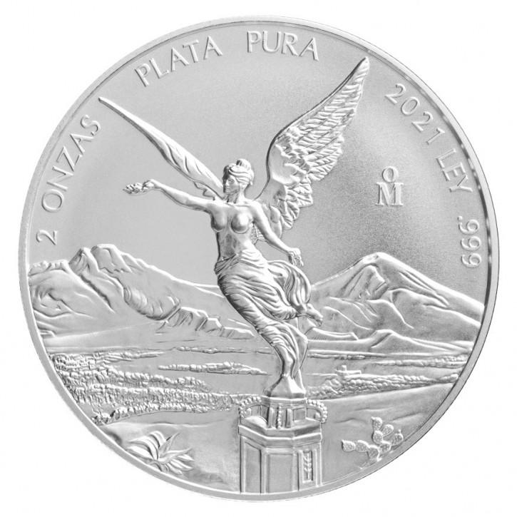Libertad Silber 2 oz 2021