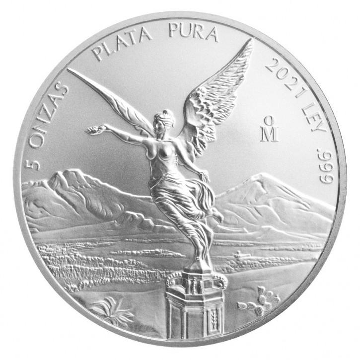 Libertad Silber 5 oz 2021