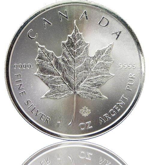 Maple Leaf Silber 1 oz 2019