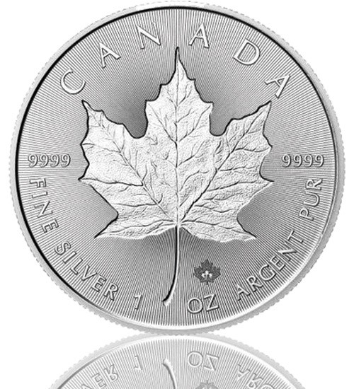 1 oz Silber Maple Leaf 2019 Incuse