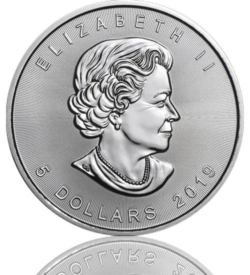 Maple Leaf Silber 1 oz 2019