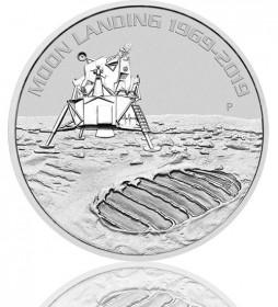 Mondlandung 50 Jahre, Australien Silber 1 oz 2019 Perth Mint