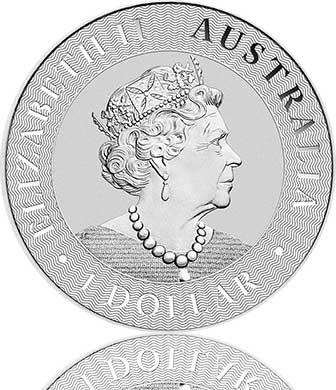 Silber Känguru 1 oz 2021 Perth Mint