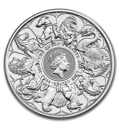 The Queen's Beast - Completer Coin 2 oz 2021