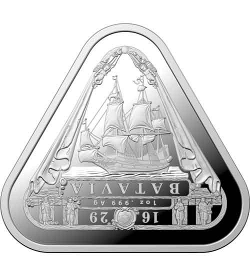 Schiffswrack RAM 1 oz Silber 2019 Batavia