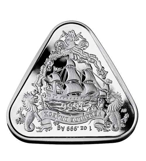 Schiffswrack RAM 1 oz Silber 2020 Vergulde Draeck