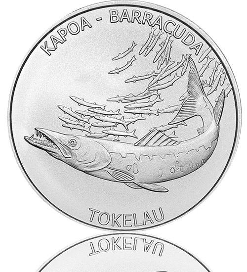 Tokelau Kapoa Barracuda 1 oz 2017