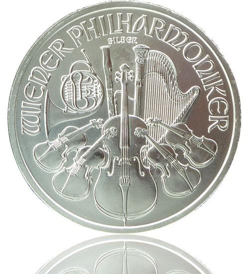 Wiener Philharmoniker Silber 1 oz 2021