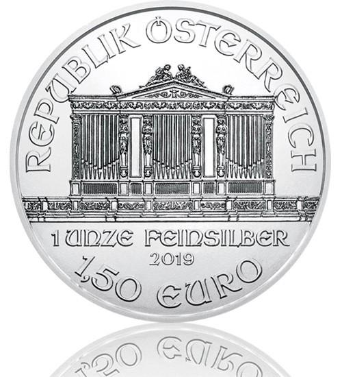 Wiener Philharmoniker Silber 1 oz 2019
